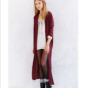 UO Silence+Noise Layer it on Duster Cardigan